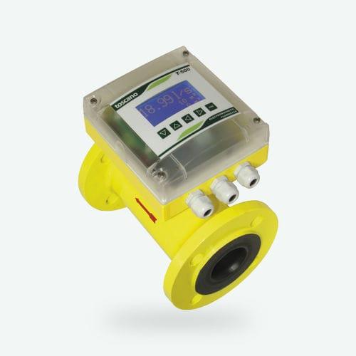 elektromagnetischer Durchflussmesser / für Wasser / kompakt / bidirektional