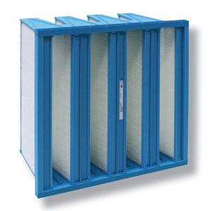 Druckluftfilter / für Farben / Glasfaser / kontinuierlich