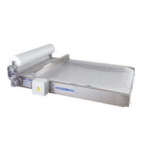 Filter zur Abwasserbehandlung / Band / kontinuierlich