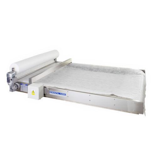 Abwasserfilter / Band / kontinuierlicher