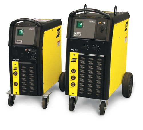 MIG-MAG-Schweißstromversorgung / mobil / mit integriertem Bildschirm / 3-Phasen