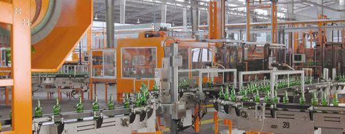vollautomatische Verpackungsanlagen / Glasflaschen / für Glasbehälter