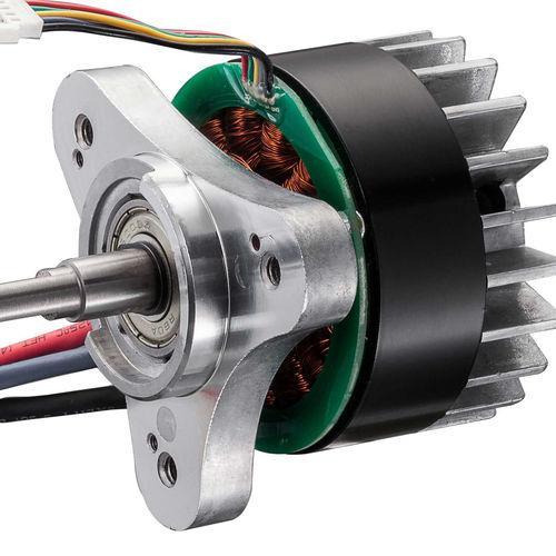 DC-Motor / bürstenlos / mit externem Läufer / Hochleistung