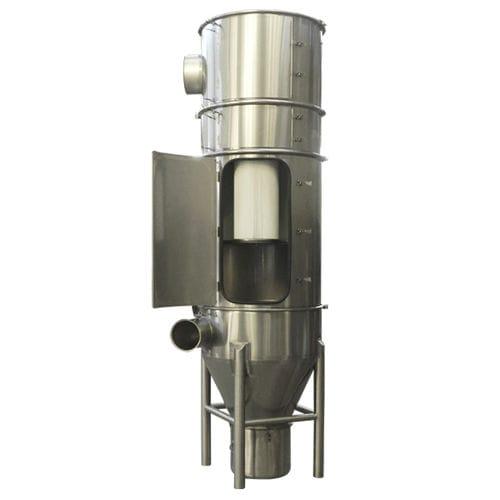 Membranfilteranlage / Staub / pneumatisch / Edelstahl