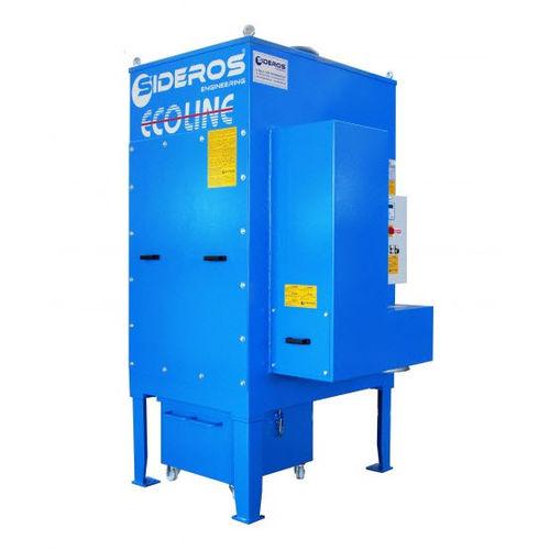 Entstauber mit HEPA-Filter / Gegenstrom-Abreinigung / kompakt / modular