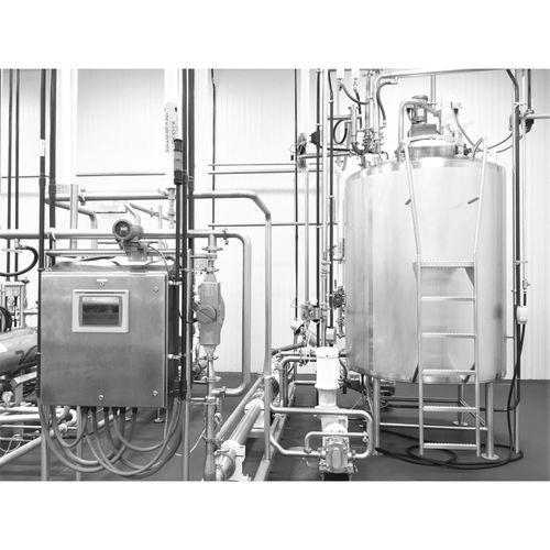 Becken für Milchprodukte / Edelstahl / Speicher / Transport