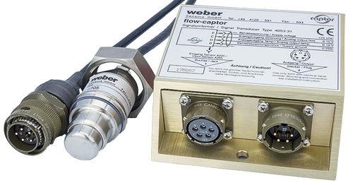 elektronischer Durchflussmesser / kalorimetrisch / für Wasser / für Öl