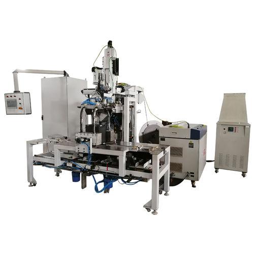automatische Umreifungsmaschine / für Batterie / seitlich / hohe Drehzahl