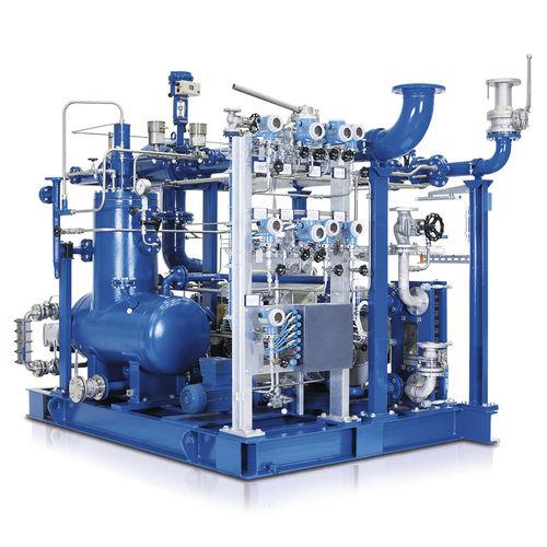 Biogas-Kompressoraggregat