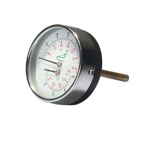 Thermomanometer mit Zifferblatt-Anzeige - Shanghai QualityWell industrial CO.,LTD.