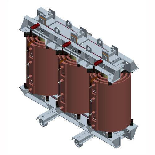 Erdungstransformator / Leistung / Gießharz / 3-Phasen