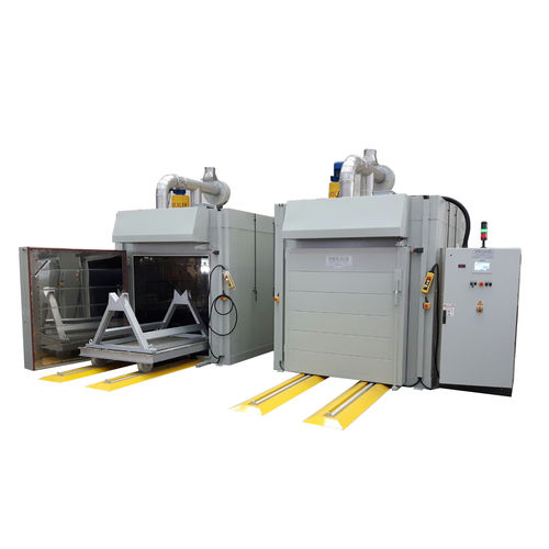 Ofen mit Trocknerfunktion / zur Harzpolymerisation / befahrbarer / Gas