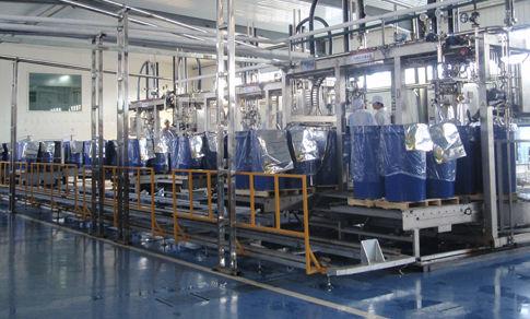Abfüllmaschine für die Lebensmittelindustrie
