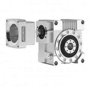Schnecken-Servogetriebe / rechtwinklig / Hochdrehmoment / mit hohem Drehmoment