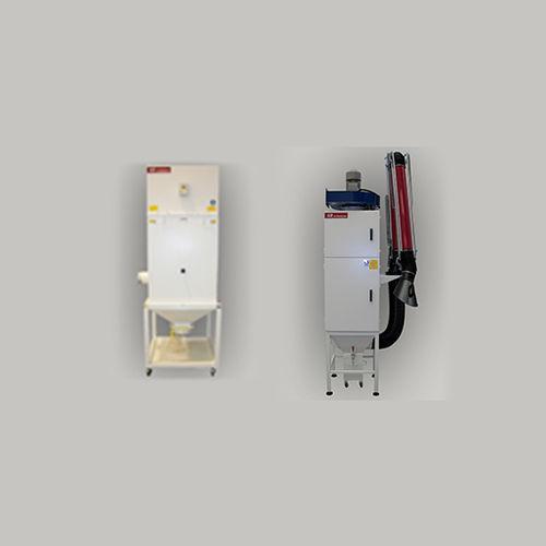 Vakuumentstauber / Filterung / mechanische Abreinigung / kompakt
