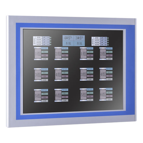 TFT-LCD-Monitor / mit resisitivem Touchscreen / mit resistivem 5-Draht-Touchscreen / 12