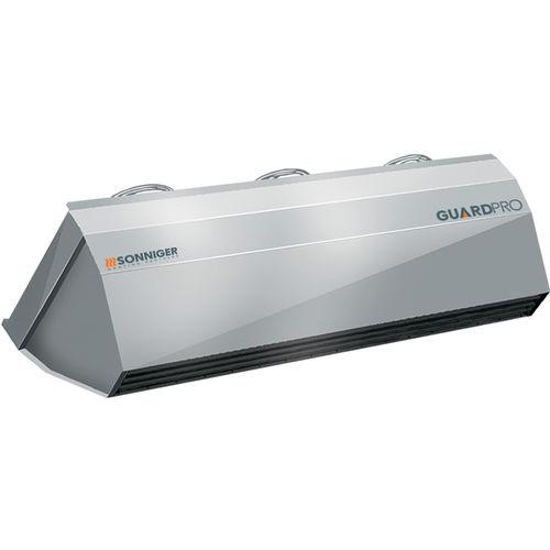 Heißluftschleier / kalt / horizontal / vertikal