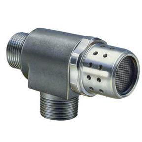 hydraulisch gesteuertes Ventil / pneumatisch gesteuert / für Gas / Inline