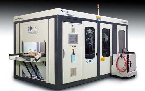 Roboterzelle für Schleifarbeiten / für Werkzeugmaschinen