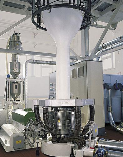 Blasfolienextrusionsanlage / für HDPE / 3 Schichten