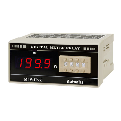 Stromstärke-Wattmeter / digital / einbaufähig