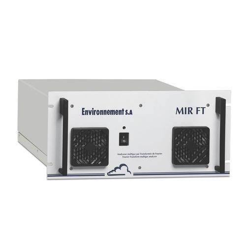 Kohlendioxid-Analysator / Sauerstoff / Rauchgas / Kohlenstoffmonoxid
