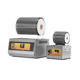 Rohrofen / elektrisch / mit Widerstand / Vakuum / für die Elektronik