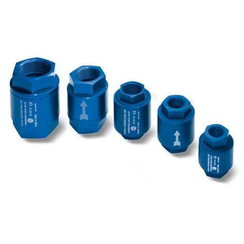 Membranrückschlagventil / Gewinde / Vakuum / pneumatisch