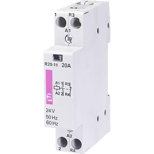 modulares Schütz / AC / 3-Phasen / einphasig