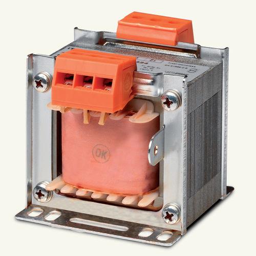Isolationstransformator / trocken / einphasig / für DIN-Schienen