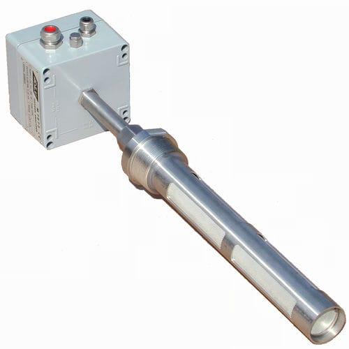 Gasanalysator / Sauerstoff / Konzentration / Temperatur