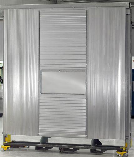 Lamellenbalg / flach / Stahl / für Bearbeitungszentrum