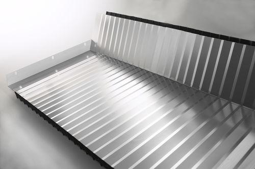 Flach-Balg / Stahl / Lamellen / für Maschinen