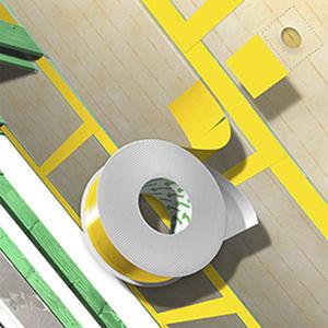 Klebeband für Gebäudetechnik / zur Dauerinstallierung