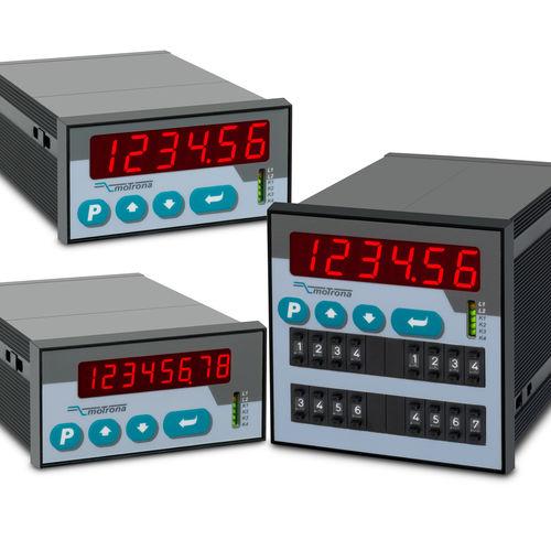 Prozessanzeiger / Position / 6-stellig / RS-232