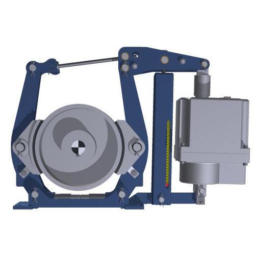 Trommelbremse / Federdruck / elektrohydraulisch