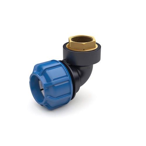 Gewindeanschluss / Kompression / gerade / hydraulisch