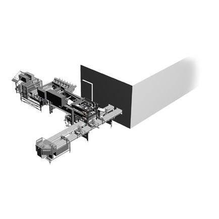 Blasfolienextrusionsanlage / Aufbereitung / für Thermoplaste / kompakt