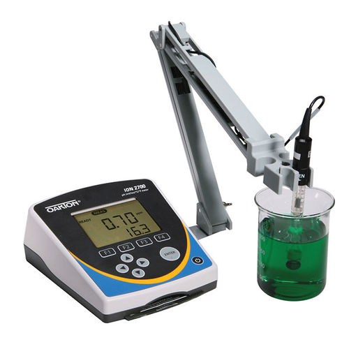 Wasser-Analysator / Nahrungsmittel / Ionenkonzentration / Temperatur