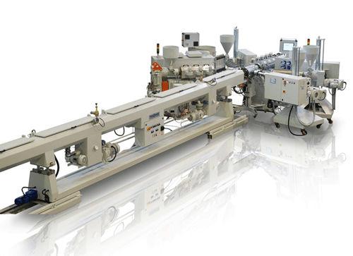 Rohrextrusionsanlage / für PP / Mehrschicht