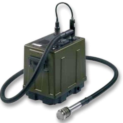 Quadrupol-Massen-Spektrometer / zur Chemikaliendetektion / Militär / mobil