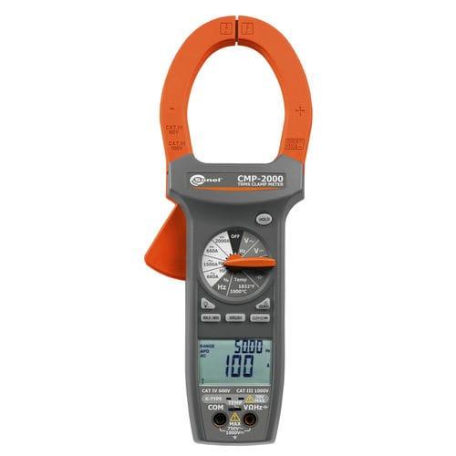 digitales Stromzangen-Multimeter / tragbar / 1000 V / 2000 A