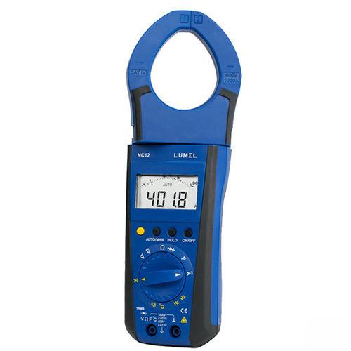 digitales Stromzangen-Multimeter / 1000 V / 1000 A / AC