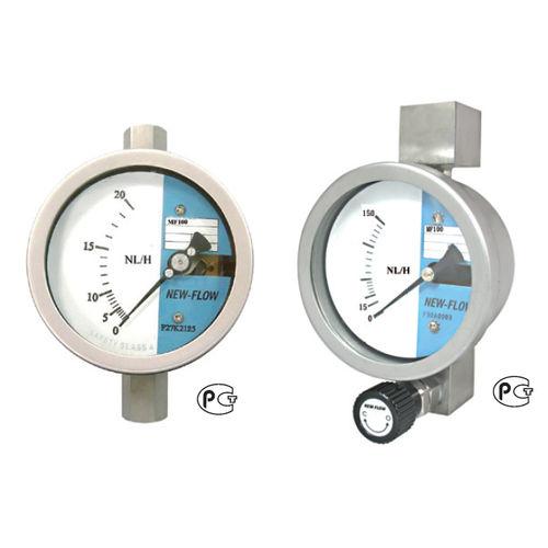Magnetdurchflussmesser / Schwebekörper / für Gas / Edelstahl
