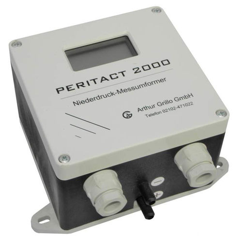 digitales Manometer / Membran / mit Membrandruckmittler