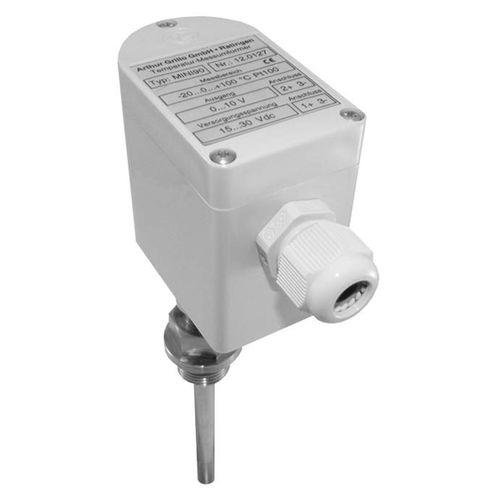 Pt100-Temperaturmessumformer / analog / IP65 / für HLK