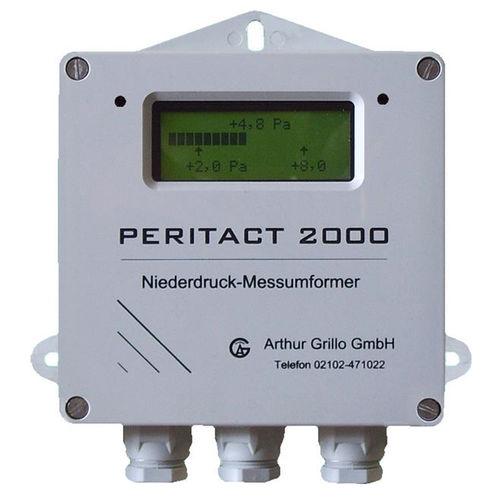 digitales Manometer / Membran / für Gas / für HLK