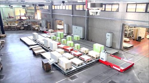 automatische Verpackungsanlage / Umschlag