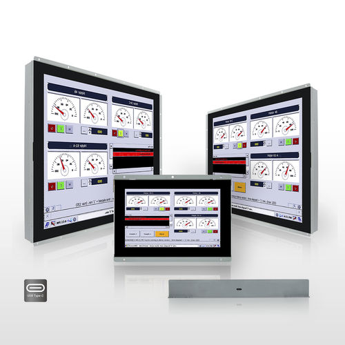 Monitor / open frame / LCD / kapazitive Projektionstechnologie / 15