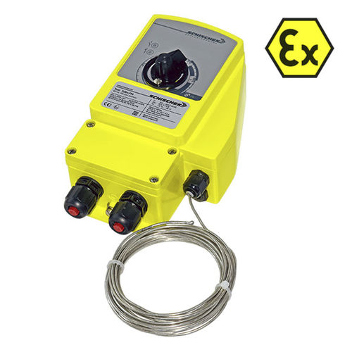 verstellbares Thermostat / Gasdruck / digital / wandmontiert